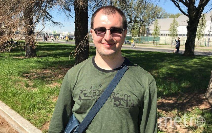 """Павел Прудников, логист, 31 год. Фото """"Metro"""""""