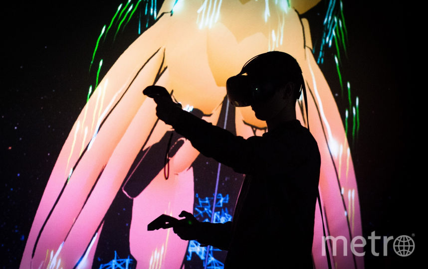 В виртуальности можно рисовать скульптуры. Фото culture.ru