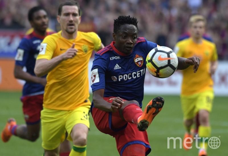 ЦСКА вырвал прямую путёвку в Лигу чемпионов в последний момент. Фото РИА Новости