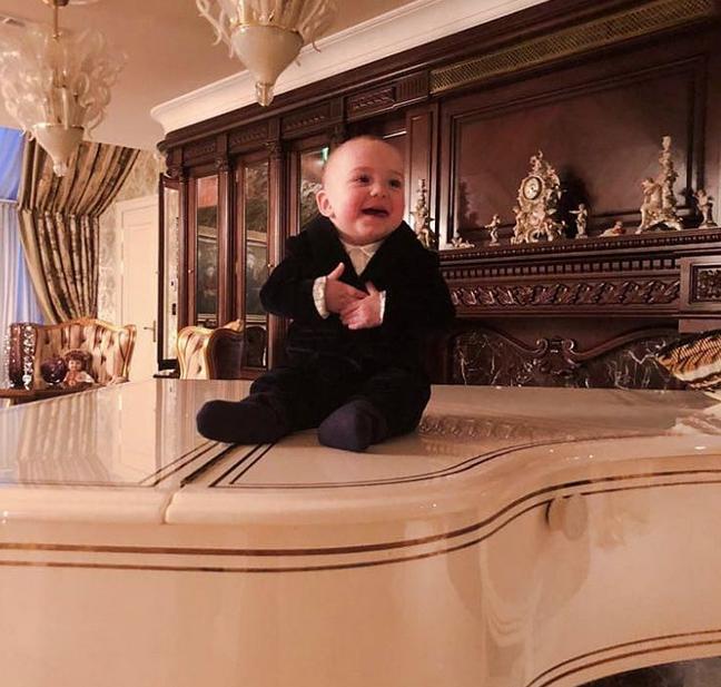 Сын Миланы и Александра Кержакова. Фото Скриншот instagram.com/milana_kerzhakova/