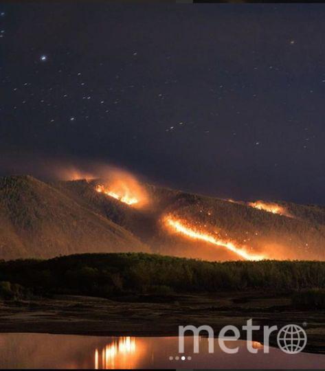 Фото страшных пожаров в Приамурье появились в Сети. Фото https://www.instagram.com/barnaul.insta/