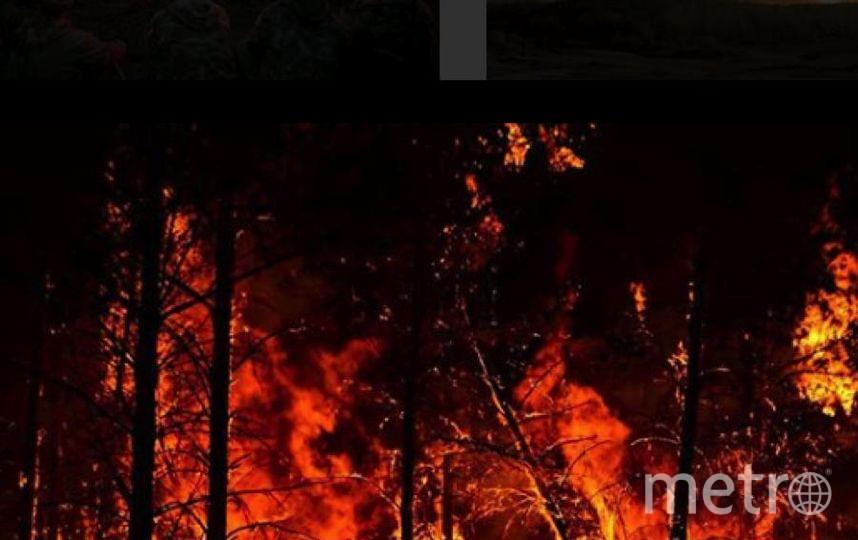 Фото страшных пожаров в Приамурье появились в Сети. Фото Instagram