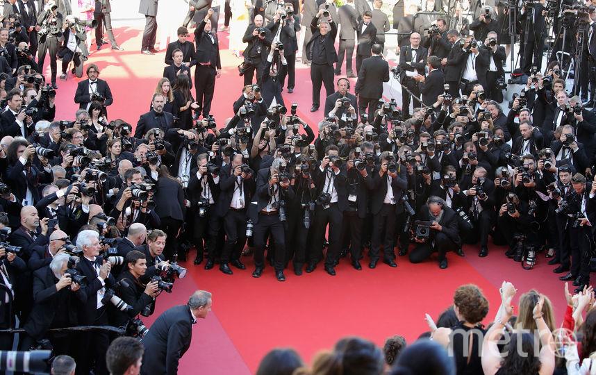 Акция протеста звезд на красной дорожке в Каннах. Фото Getty