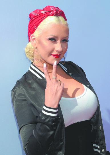 Christina Aguilera. Фото Getty
