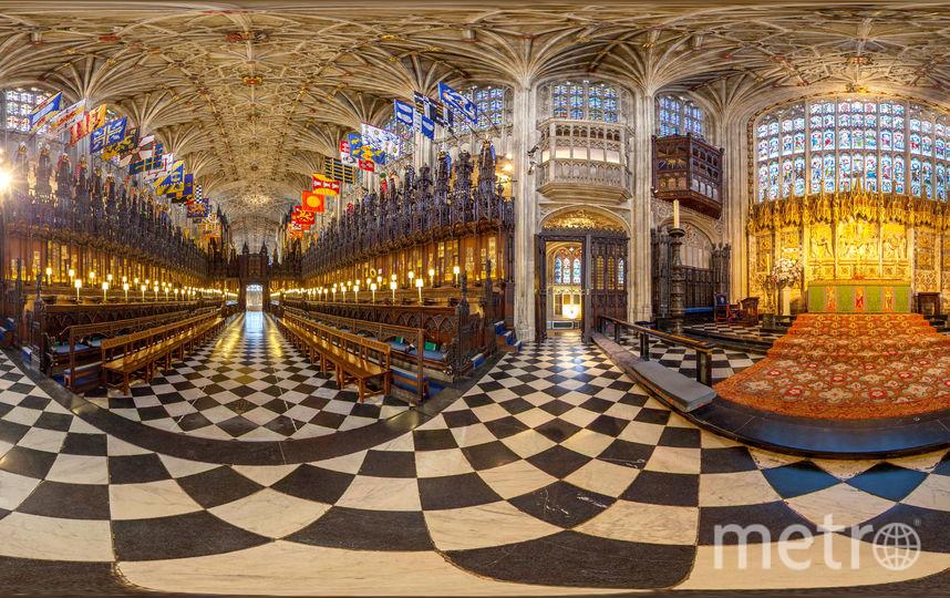 Капелла Святого Георгия. Именно здесь принц Гарри и Меган Маркл станут мужем и женой. Фото Getty