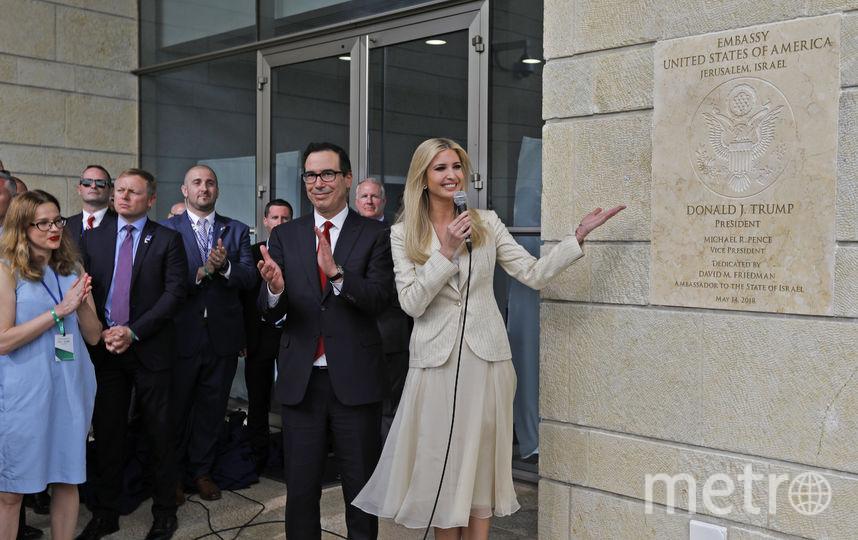 В Иерусалиме началась церемония открытия посольства США. Фото AFP