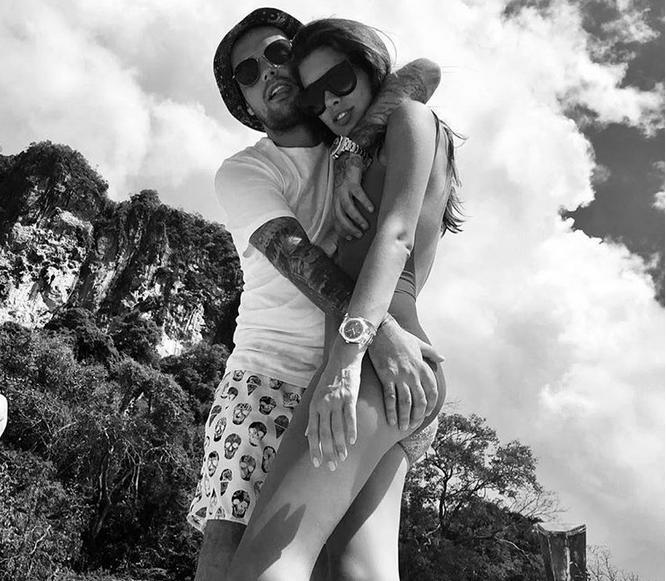 Рэпер Гуф и Кети Топурия, фотоархив.
