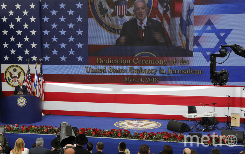 В Иерусалиме открылось новое посольство США в Израиле. Фото AFP