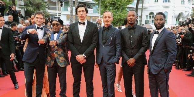 Спайк Ли и другие гости кинофестиваля.