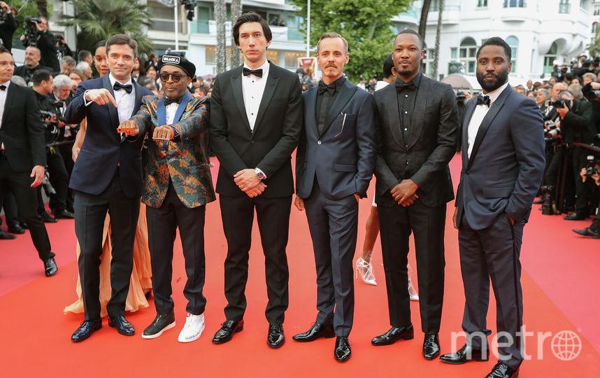 Спайк Ли и другие гости кинофестиваля. Фото AFP