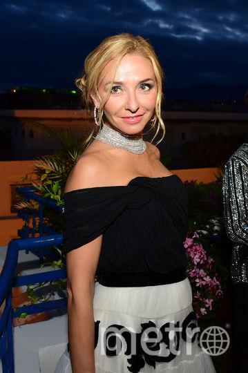 Татьяна Навка в Каннах. Фото Getty
