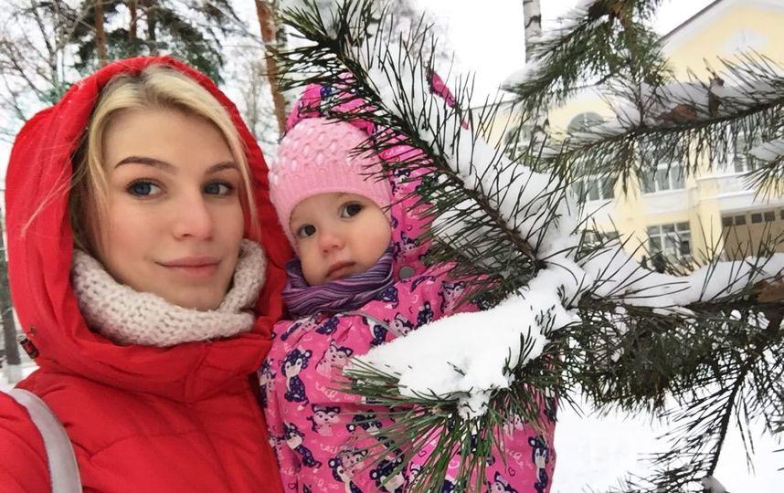 Мама Кристина Матосова, дочка Алиса Матосова. Фото Любовь