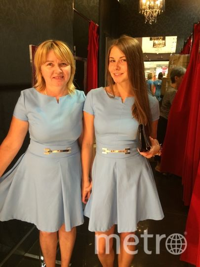 Смирновы Елена ( мама) и Ириша (дочь). Фото Елена