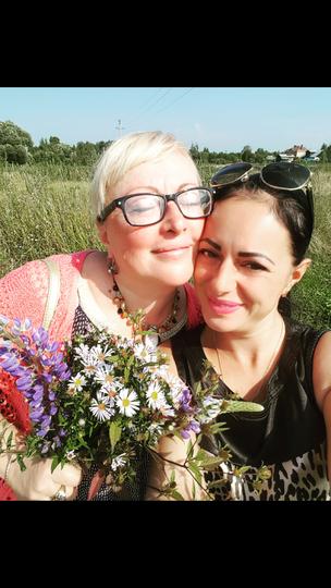 Марианна Гусева с мамой. Фото Марианна