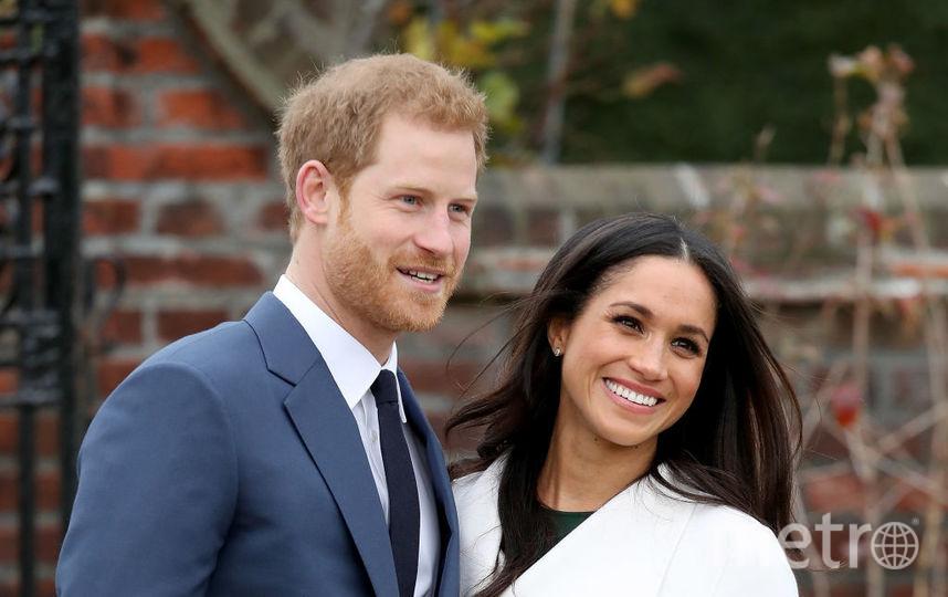 Принц Гарри со своей невестой Меган Маркл. Фото Getty