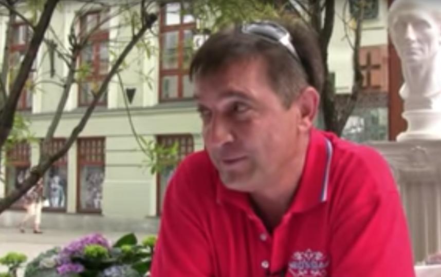 Игорь Капуста, бывший муж Ирина Аллегровой. Фото Скриншот Youtube