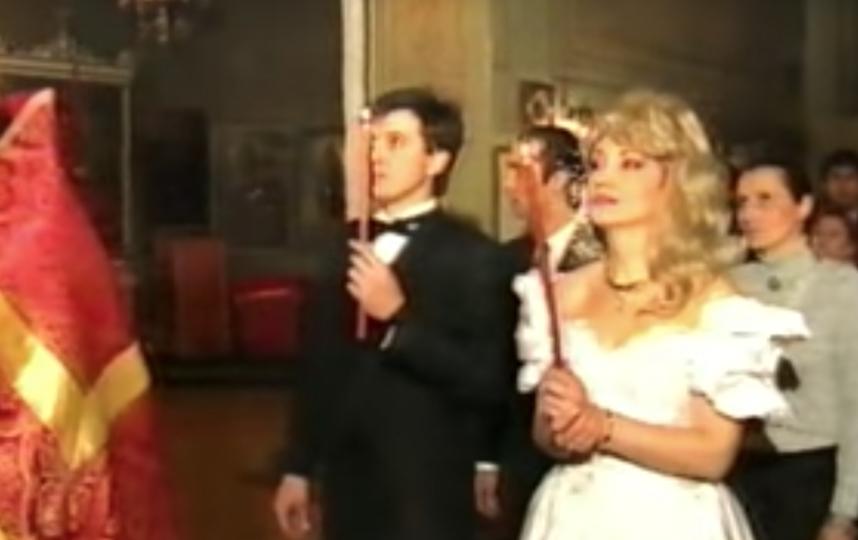 Венчание Аллегровой и Капусты. Фото Скриншот Youtube