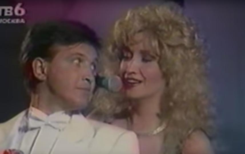 Игорь Капуста и Ирина Аллегрова. Фото Скриншот Youtube