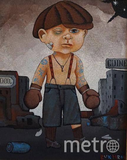 Дмитрий Бухров. Держи фасон. 2015. Холст на картоне, смешанная техника. Фото предоставлены организаторами