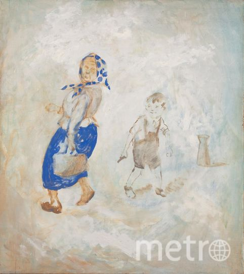 Дубосарский Владимир. Саша хулиган. 1992. Х.м. Фото предоставлены организаторами
