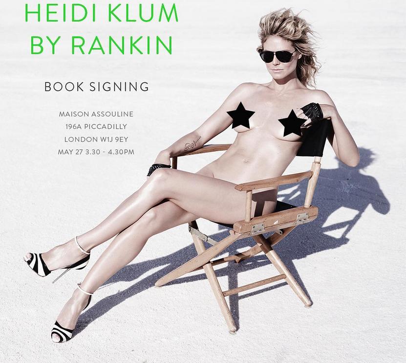 Хайди Клум, фотоархив. Фото все - скриншот www.instagram.com/heidiklum/