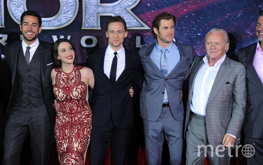 Энтони Хопкинс и другие актёры. Фото Getty