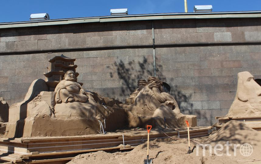 В Петербурге пройдет Фестиваль песчаных фигур - 2018. Фото Предоставлено организаторами.