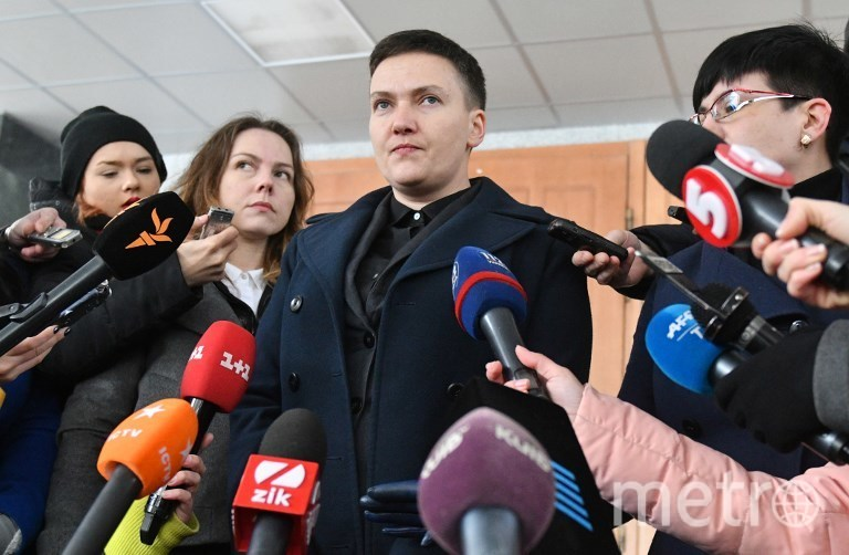 Депутат Надежда Савченко. Фото AFP