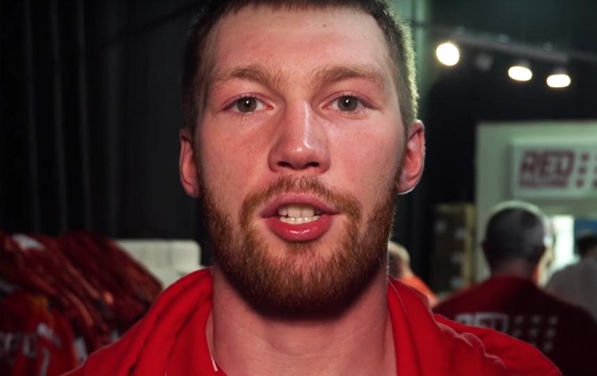 Владислав Гавриков, защитник сборной. Фото Скриншот Youtube