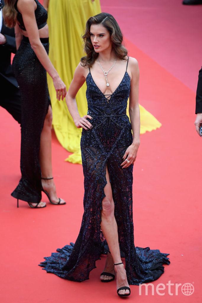 Алессандра Амбросио, Каннский кинофестиваль - 2018, фотоархив. Фото Getty
