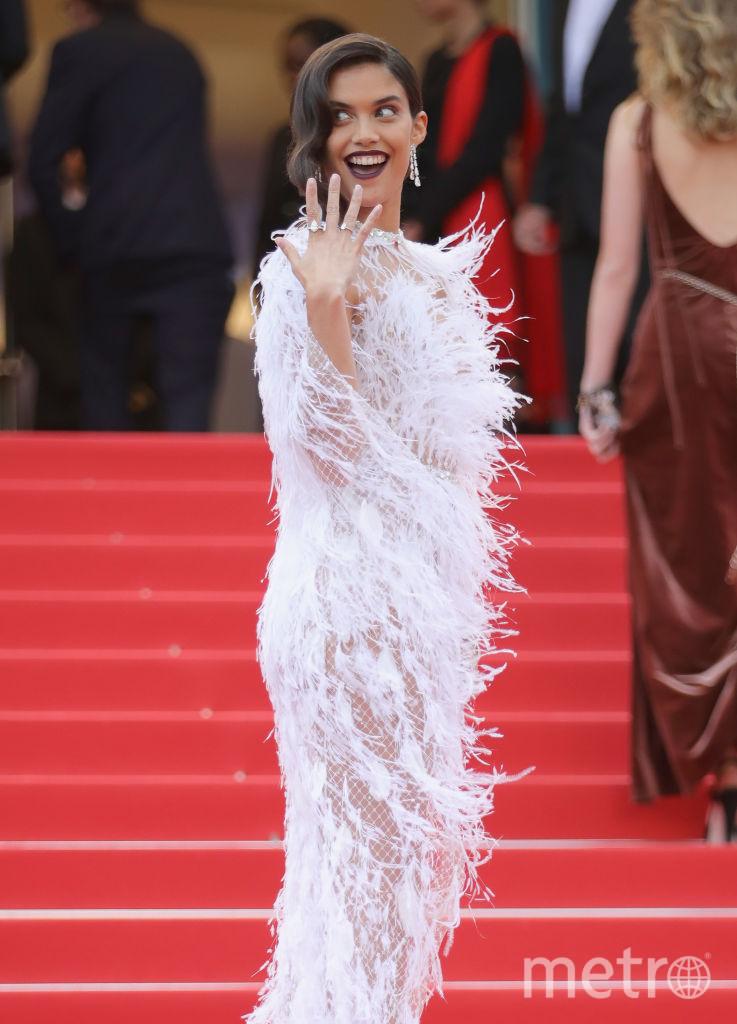 Сара Сампайо, Каннский кинофестиваль - 2018, фотоархив. Фото Getty