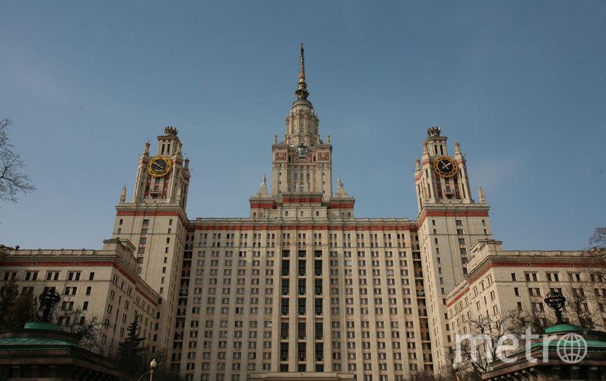 В Москве закрыли для проезда Университетскую площадь. Фото Василий Кузьмичёнок