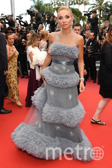 Татьяна Навка для второго выхода в Каннах выбрала такой наряд. Фото Getty