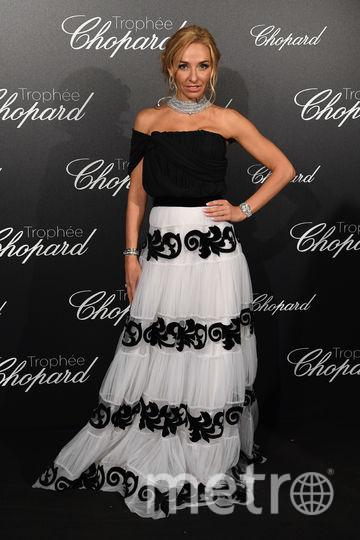 Платье Татьяны Навки в первый выход в Каннах вызвало критику. Фото Getty