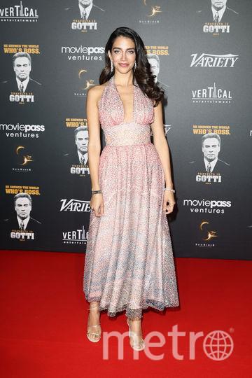 На вечеринке в честь Траволты в Каннах были и другие звезды. Джессика Кахавати, австралийская модель. Фото Getty