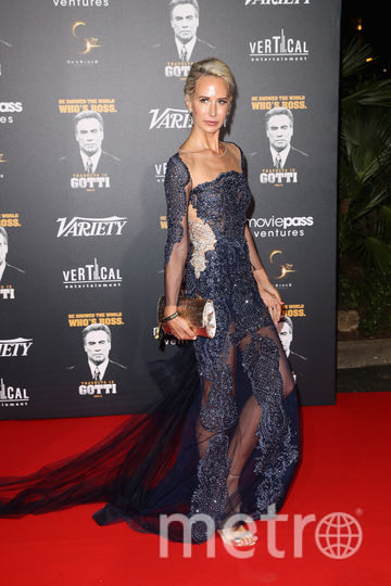 На вечеринке в честь Траволты в Каннах были и другие звезды. Леди Виктория Херви, британская модель. Фото Getty