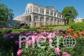 Камеронова галерея в Царском Селе построена в период царствования Екатерины II.. Фото www.artnight.ru
