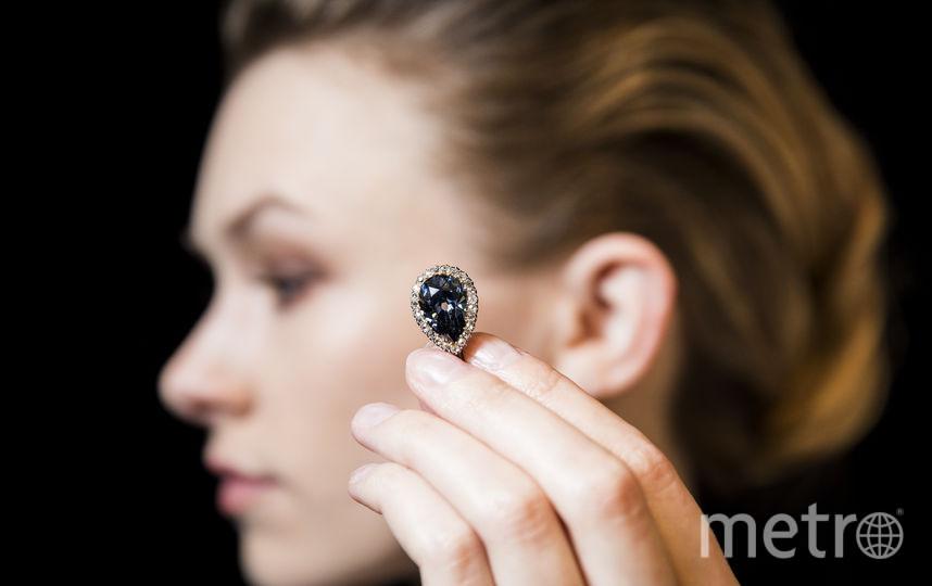 Голубой бриллиант. Фото Getty