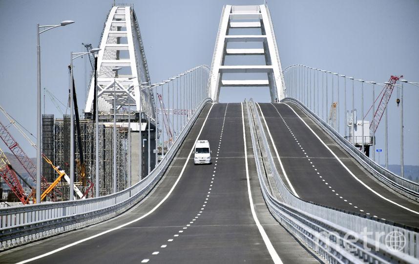 Крымский мост. Фото AFP