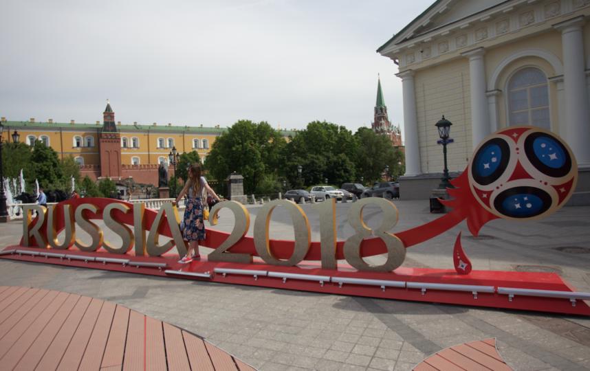 Москва становится футбольной. Фото Василий Кузьмичёнок