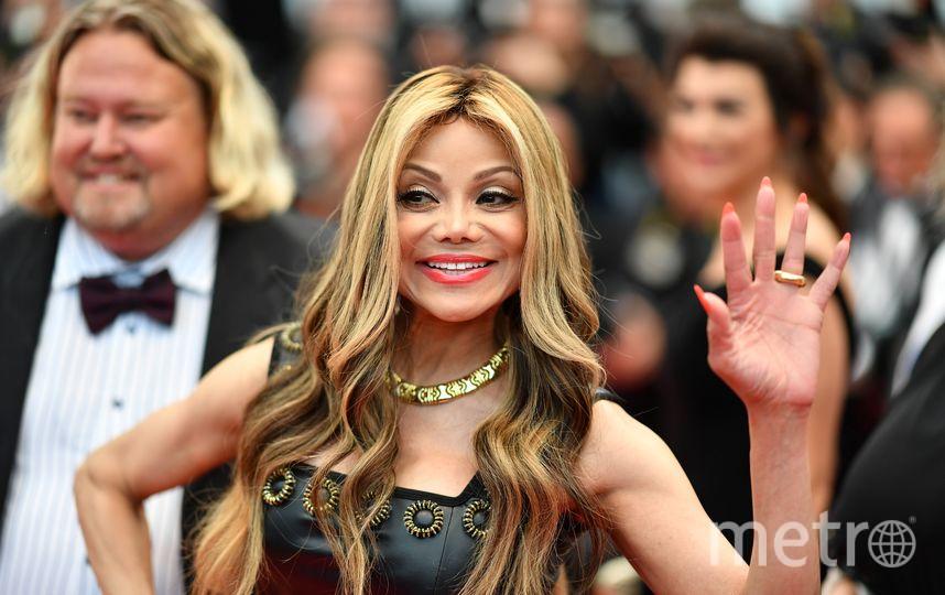 Гостьей вечера также стала Ла Тойя Джексон, старшая сестра Майкла Джексона. Фото AFP