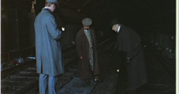 """""""Приключения Шерлока Холмса и доктора Ватсона: Двадцатый век начинается"""", 1986 год."""