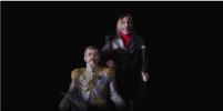Лёва Би-2 в новом клипе станцевал в образе императора: видео
