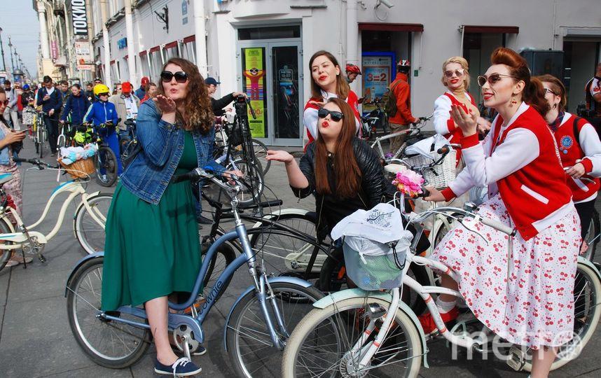 """12-й раз в городе пройдет всероссийская акция """"На работу на велосипеде"""". Фото Николая Волкова"""