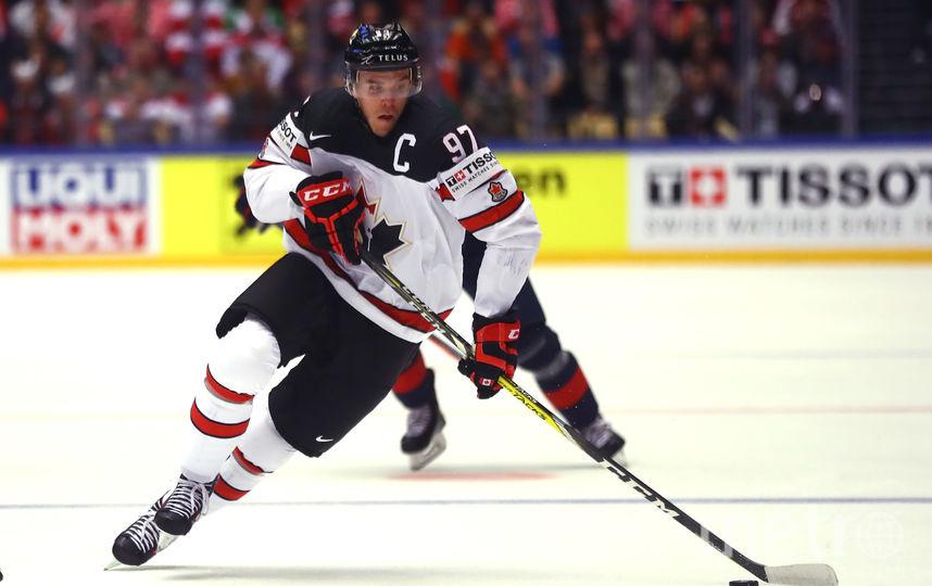 Лидер сборной Канады по хоккею Коннор Макдэвид. Фото Getty