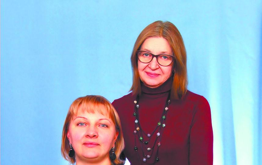 Ольга Махнева и Анна Талалаева. Фото предоставлено героем публикации.