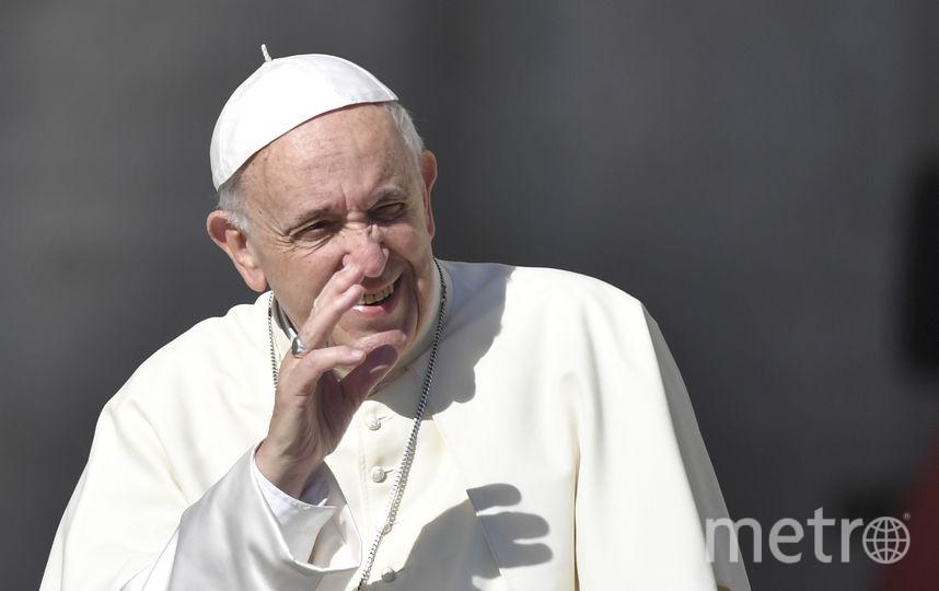 Папа римский Франциск. Фото AFP
