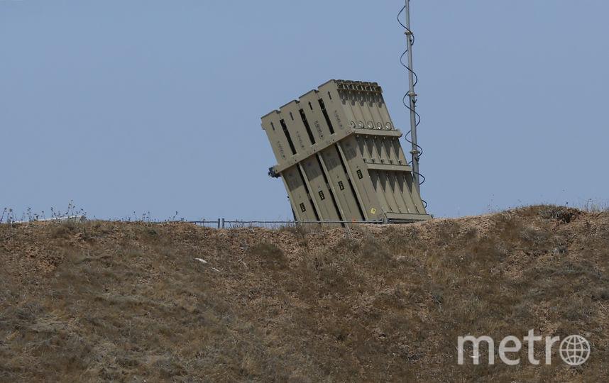 """Каждая батарея Каждая батарея ПРО """"Железный купол"""" может защищать территорию площадью 150 квадратных километров. Фото AFP"""