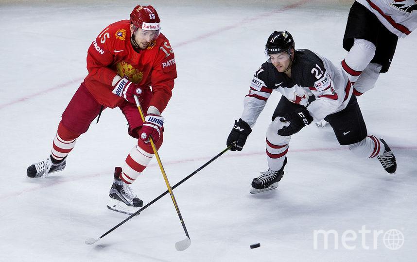 Россияне уступили канадцам и вылетели с чемпионата мира по хоккею. Фото AFP