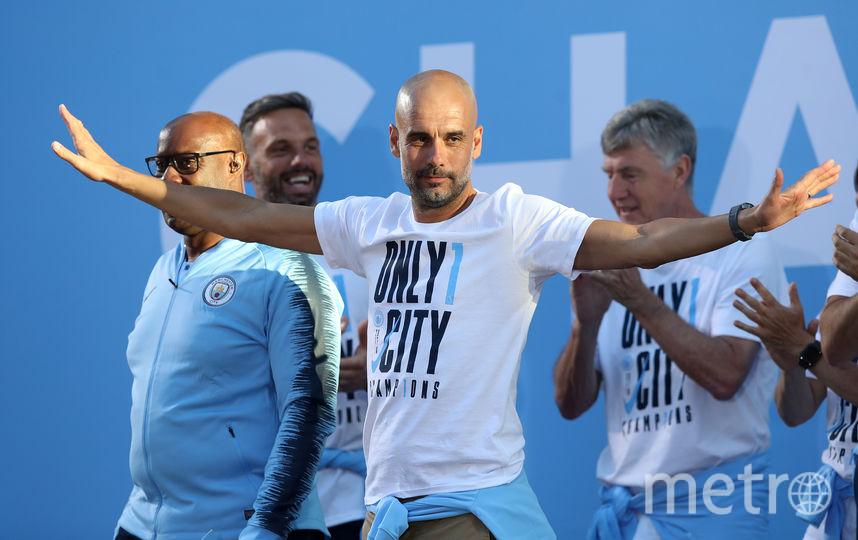 """В нынешнем сезоне """"Сити"""" досрочно одержал победу в чемпионате Англии. Фото Getty"""